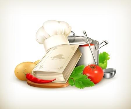 Koken illustratie