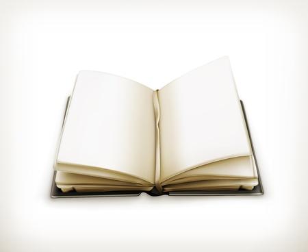 Open book Stock Vector - 18825011