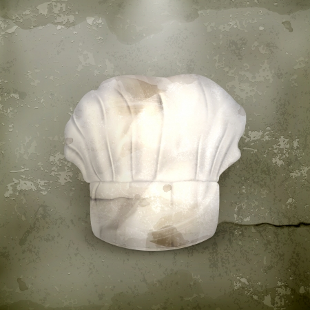 kitchener: Chef hat, old-style