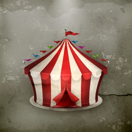 marquee tent: Circus, old-style