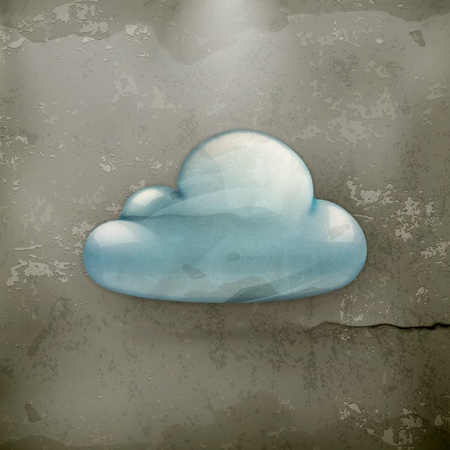wheather forecast: Cloud, old-style