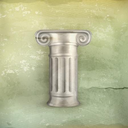 roman pillar: Column, old-style