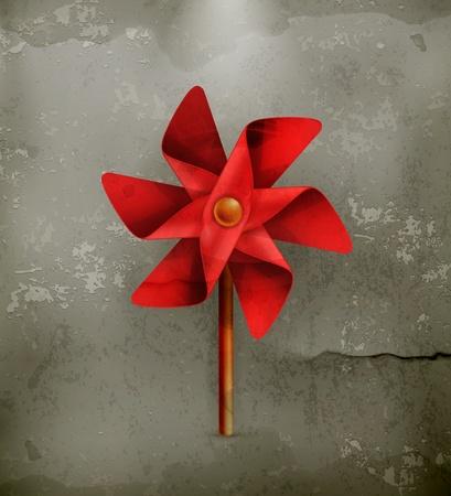 pinwheel toy: Pinwheel toy, old style