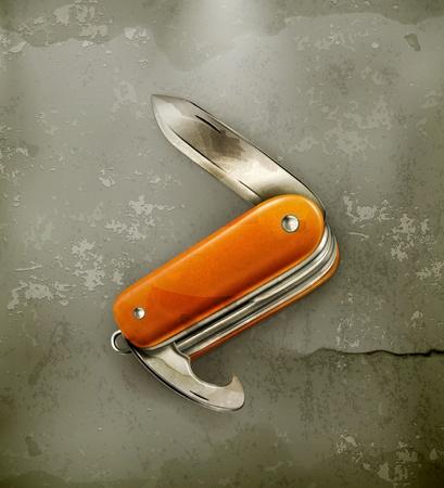 pocket knife: Pocket knife, old-style