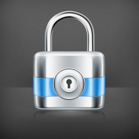 Lock Stock Vector - 19239280