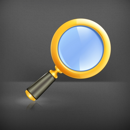 Magnifying lens Stock Vector - 19239276