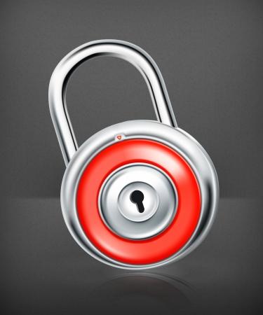 lock, icon Stock Vector - 19331578