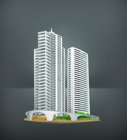 industrial park: Building