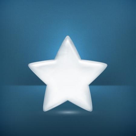 White star Vector