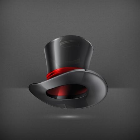 Cylinder hat Vector