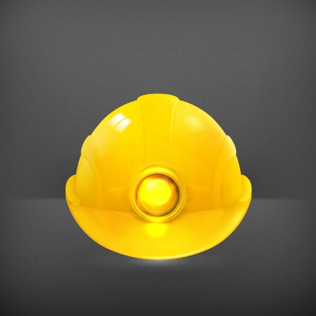 miner: Helmet Illustration