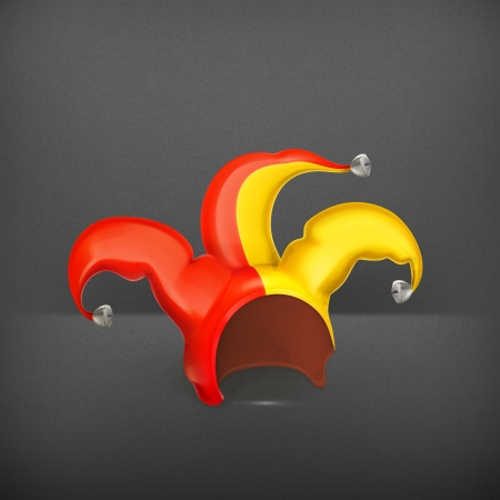jester hat: Jester cap Illustration