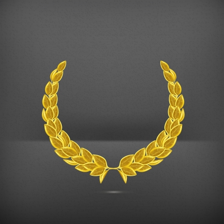 rank: Laurel wreath, award  Illustration