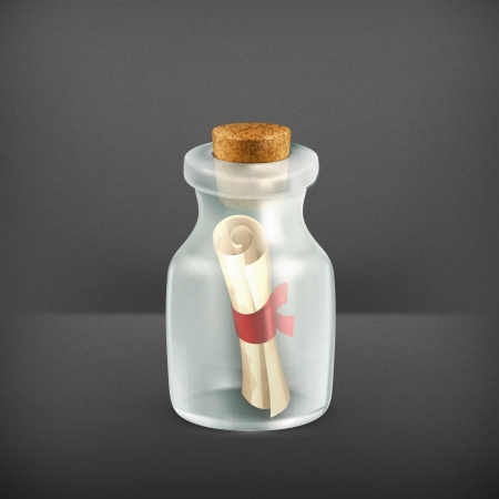 pocion: Mensaje en una botella, icono