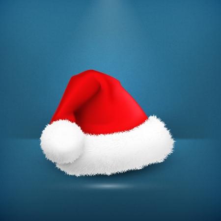Santa Claus hat Stock Vector - 19331636