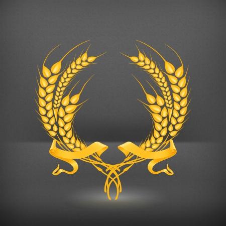 couronne de blé
