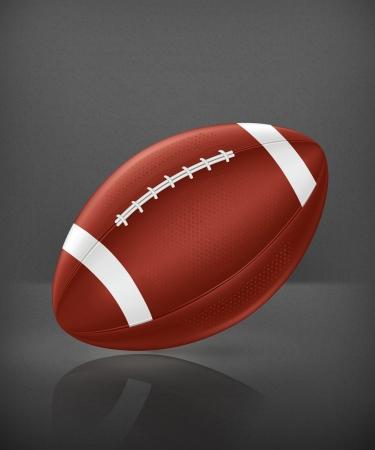 American Football vector Vector