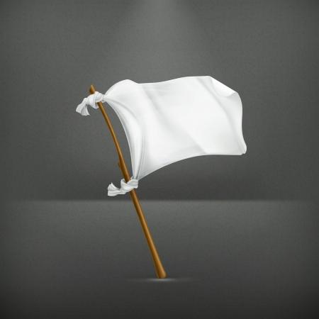 surrender: White flag
