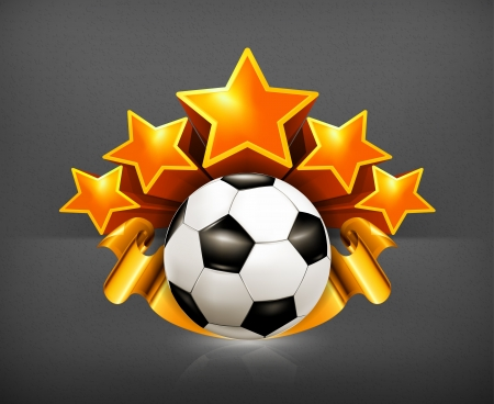 Soccer Emblem Stock Vector - 19438500
