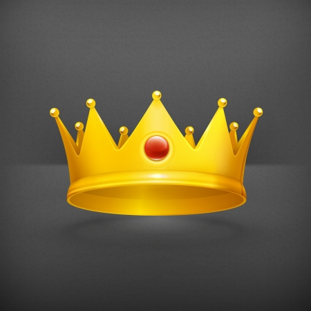 king and queen: Royal crown