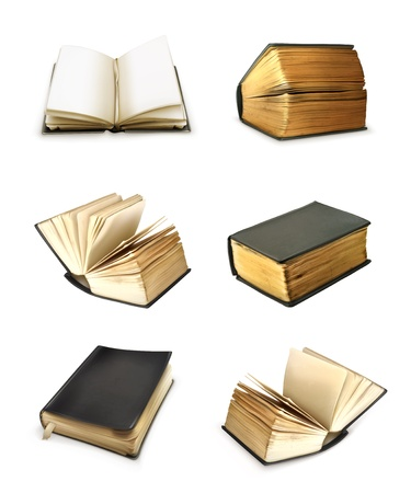 ancient books: Book set