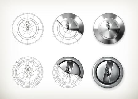 Keyhole drawing Stock Vector - 19438641