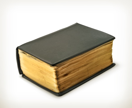 thick: Old book