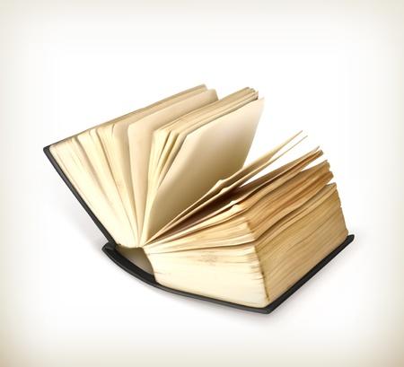 Open book icon Stock Vector - 19438496
