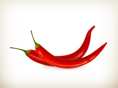 Red peppers Stock Vector - 19437863
