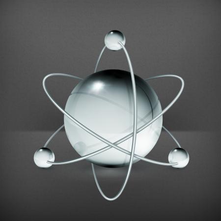 Atom Stock Vector - 19474681