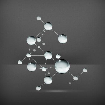 Molecule Stock Vector - 19474893