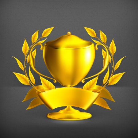 first prize: Trophy gold