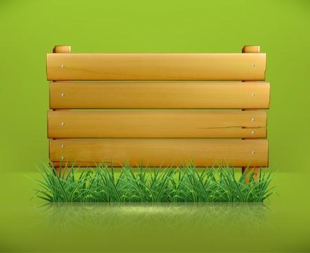chipboard: Wooden message board