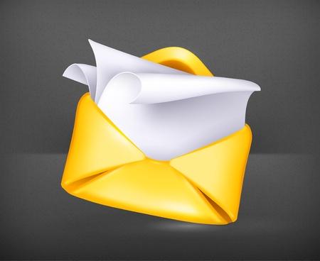 Letter  Stock Vector - 19474336