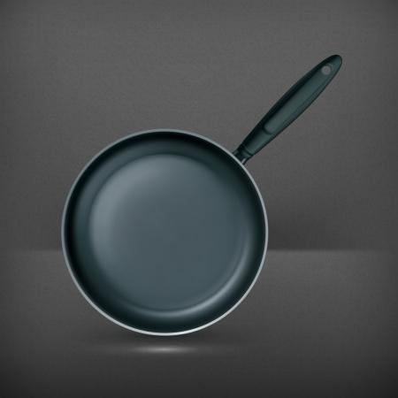Frying pan Stock Vector - 19474373
