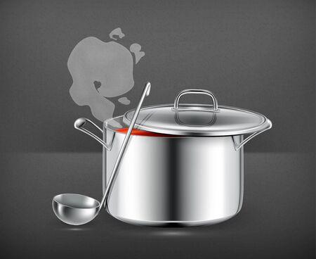 Hot soup Stock Vector - 19474807