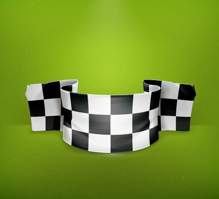 Checkered flag Stock Vector - 19474574