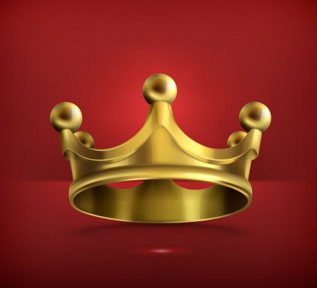 Gold crown Stock Vector - 19474774