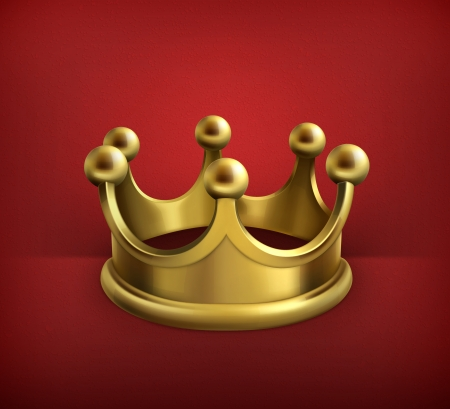 Gold crown Stock Vector - 19474567