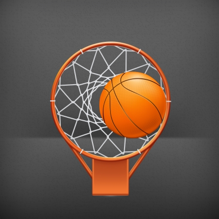 Basketball icon Vector