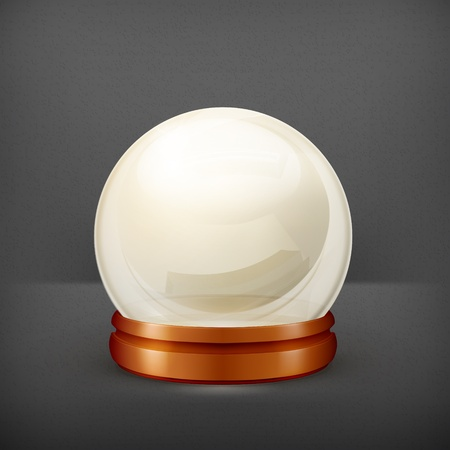 Magic ball Vector