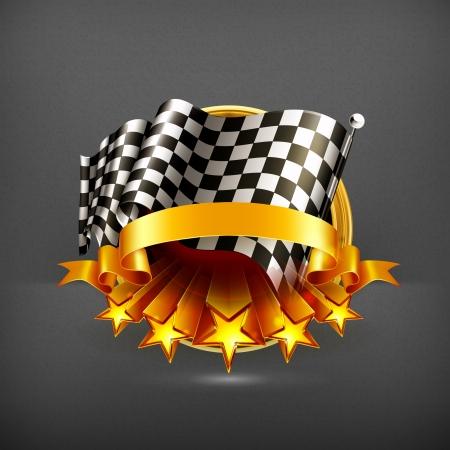 formula one racing: Racing emblem