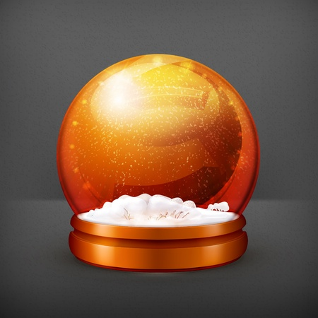 Snow ball Vector