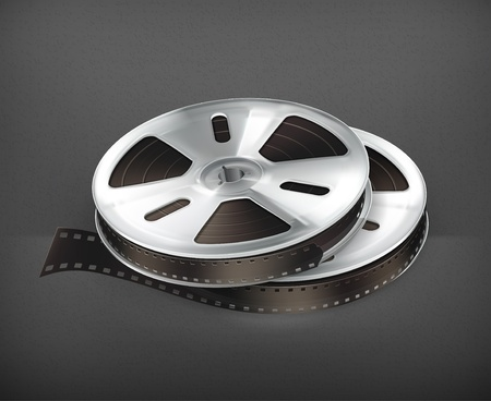 35mm film motion picture camera: Film Reel