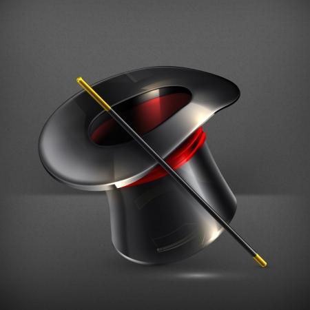 magic hat: Magic cylinder hat