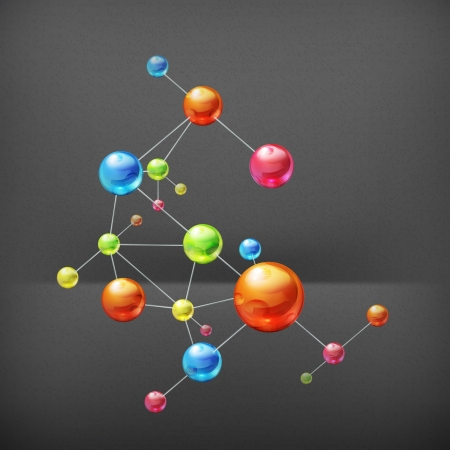 molecular structure: Molecule Illustration