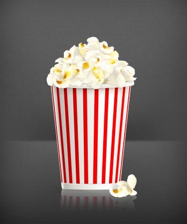 comfort food: Popcorn