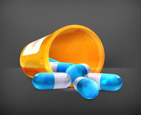 pill box: Pills
