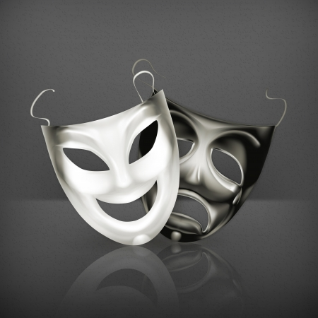 drama mask: Theater masks