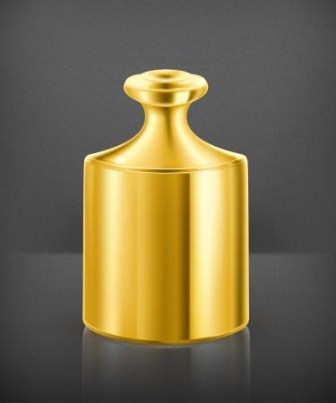 etalon: Gold weight Illustration